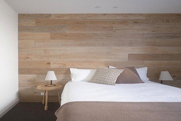 Оформление спальни - живое дыхание дерева