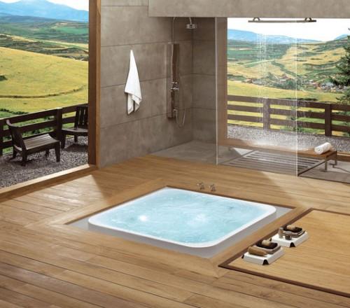 Офуро - ванная  комната в японском стиле