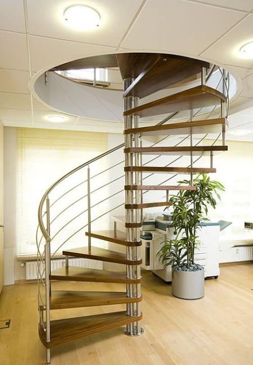 Современные винтовые лестницы
