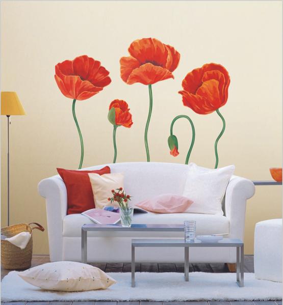 Декоративные наклейки на стену – станьте дизайнером своих интерьеров
