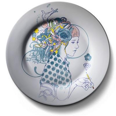 Украшаем стены декоративными тарелками