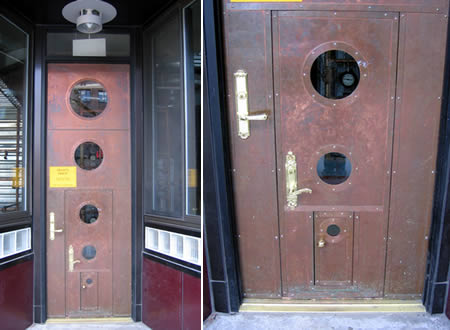 Дизайн необычных дверей