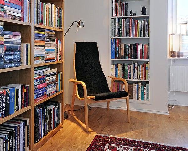 Организовываем место для комфортного чтения
