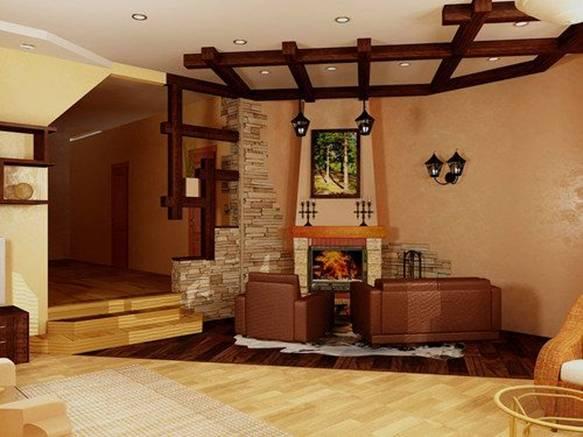 Дизайн интерьера в стиле кантри