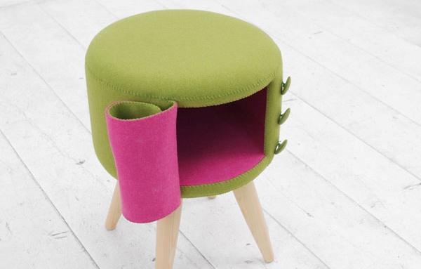 Свежее решение: яркая мебель для ярких людей