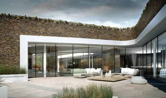 Дом в форме цветка фото