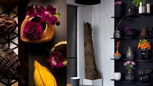Цветы в африканском стиле
