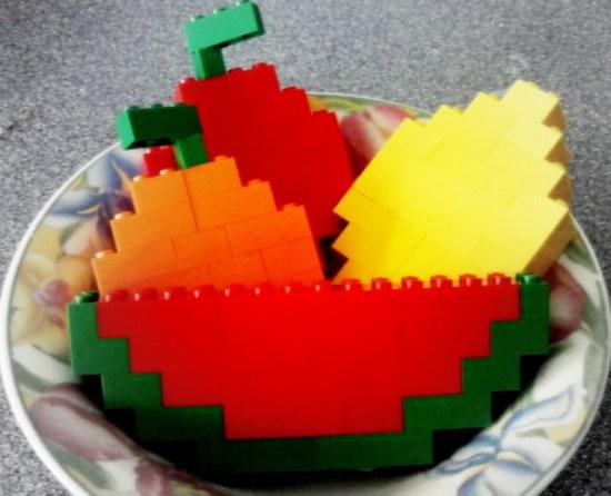 Конструкторы Lego фрукты