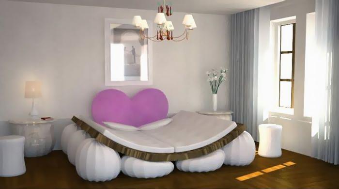Кровать - индикатор любви