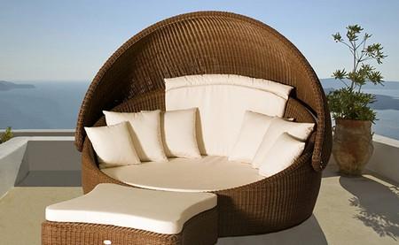 Мебель для дачи плетеная фото