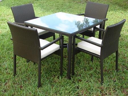 Мебель для дачи из ротанга фото