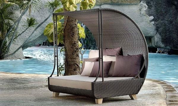 Мебель для сада с крышей фото