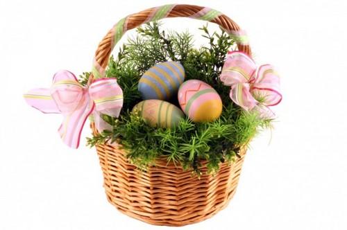 Пасхальные яйца букет