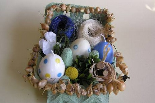Пасхальные яйца свечи