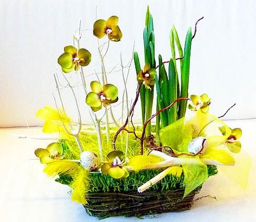 Весенний пасхальный букет