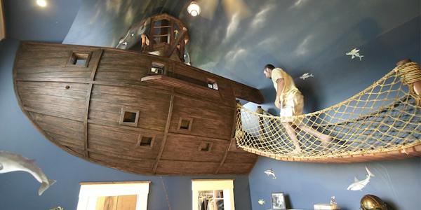комната ребенка в стиле пиратов