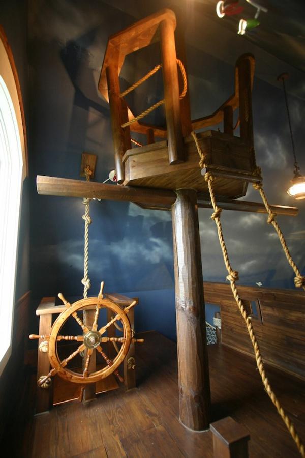 Оформление деской комнаты пиратов