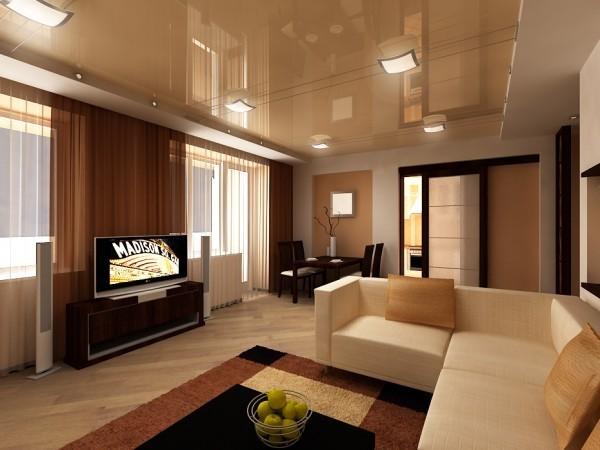 Фото современных потолков