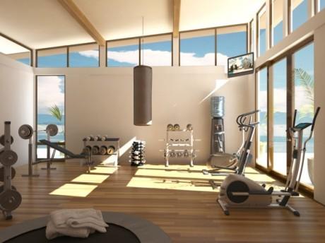 Домашний спортивный зал