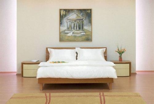 Фен-шуй спальни кровать
