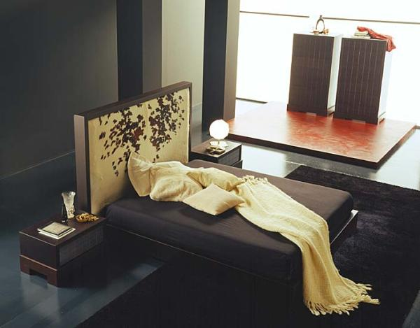 Кожаная кровать фото