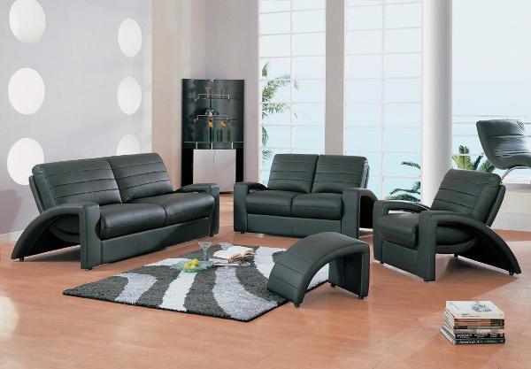 Кожаная мягкая мебель фото