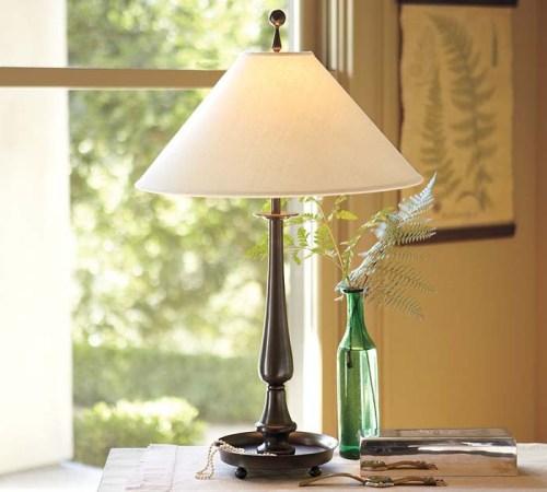 Настольные лампы ретро