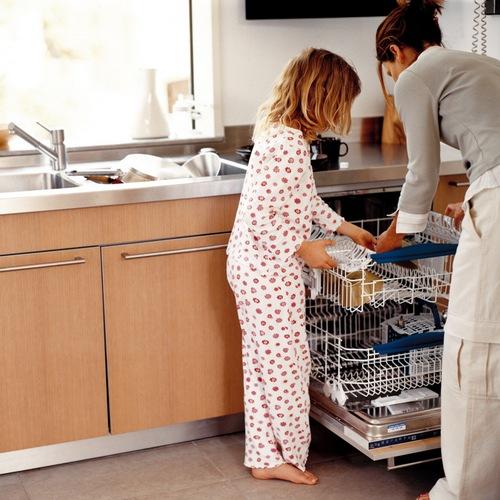 Встраиваемые посудомоечные машины в современной кухне
