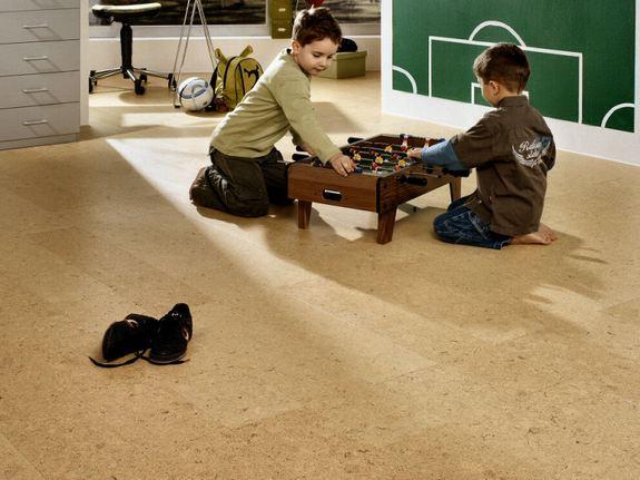 Пробковые полы в детской комнате фото