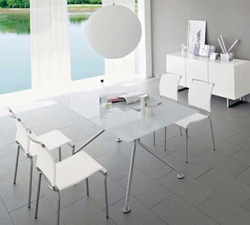 Стеклянные столы для кухни фото