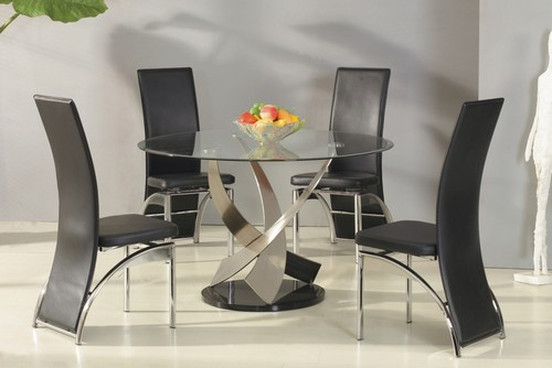 Стол кухонный стеклянный фото