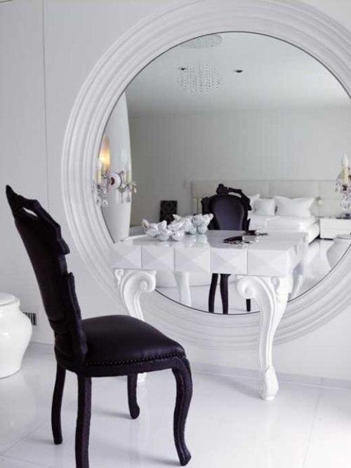 Туалетный столик белый