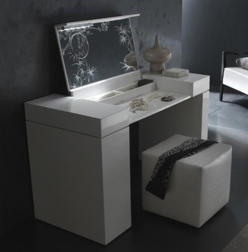 Туалетный столик белый фото