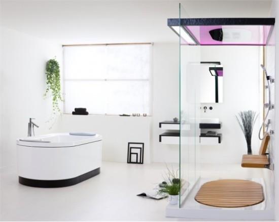 Душевые кабины с ванной фото