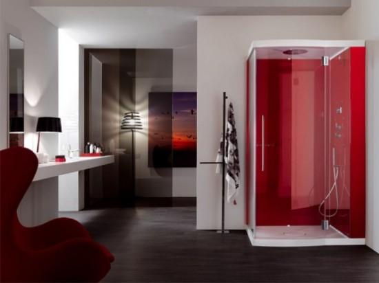 Дизайн ванной с душевой кабиной фото