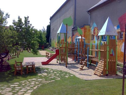 Спортивный игровой комплекс детский