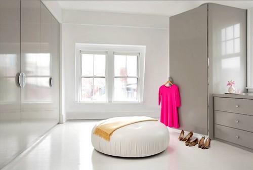 Гардеробный шкаф комната
