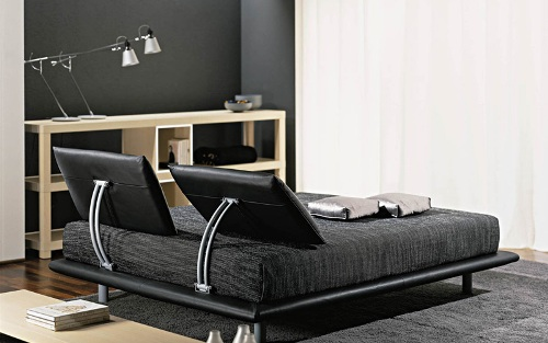 Кровать-подиум интерьер
