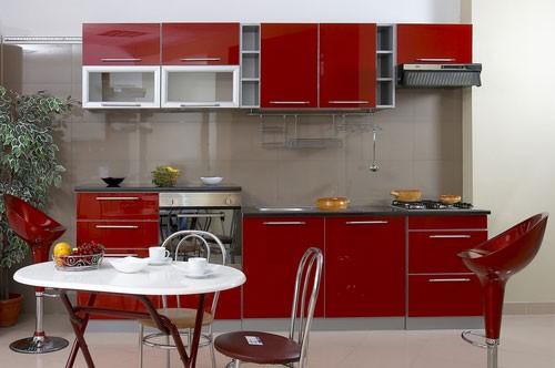 Кухни в стиле хайтек фото