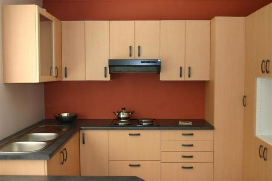 Модульная мебель для узкой кухни
