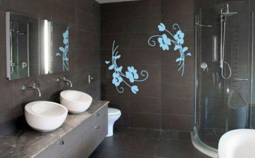 Трафареты для ванной фото