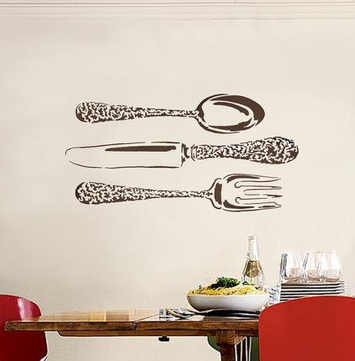 Трафареты для декора кухни своими руками фото 465