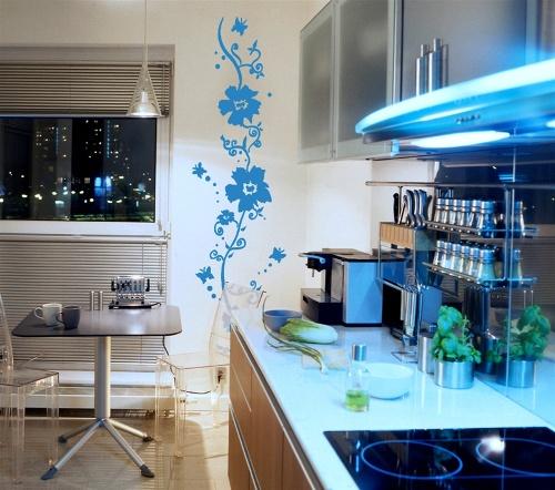 Трафареты для декора кухни