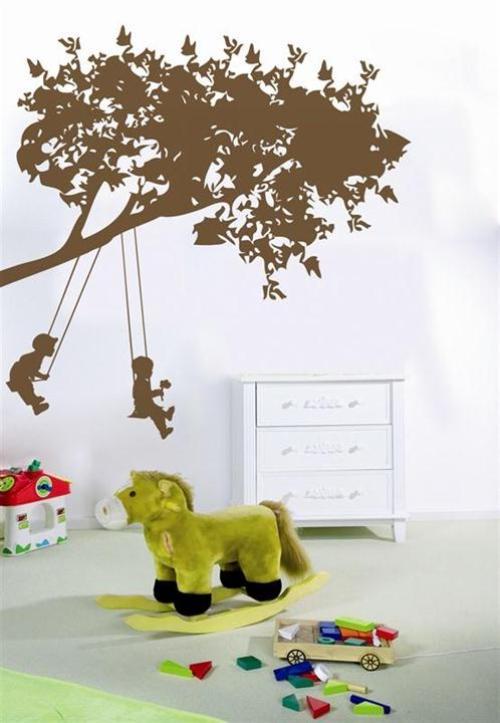 Трафареты для стен детские