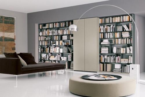 Дизайн интерьера библиотека