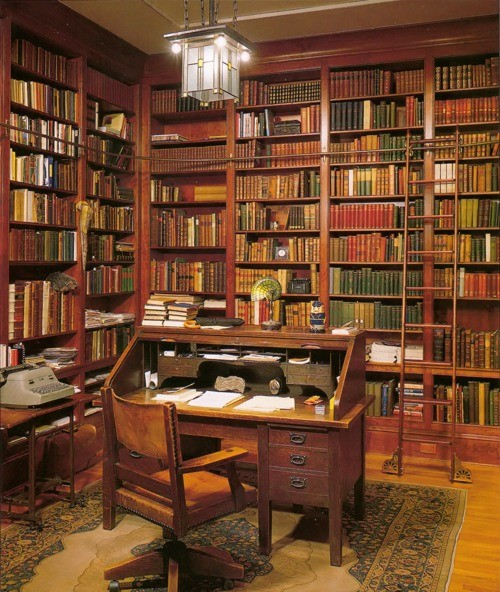 25 Best Ideas About Home Library Design On Pinterest: Дизайн интерьера - домашняя библиотека