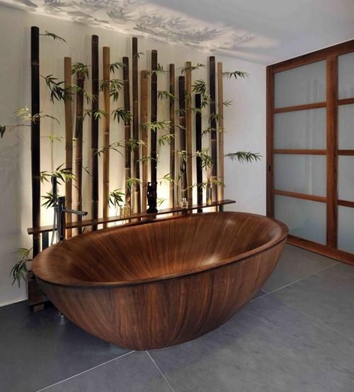 Ванная стиль эко