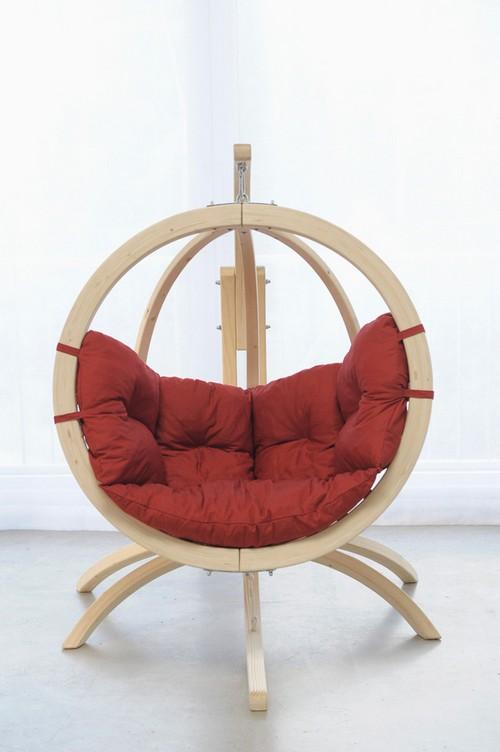 Гамак-кресло с каркасом