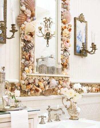 Морские ракушки декор фото