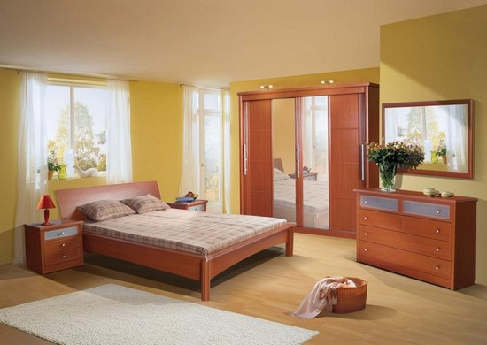 Спальные гарнитуры со шкафом купе